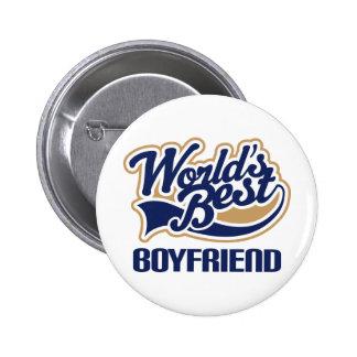 World Best Boyfriend 6 Cm Round Badge