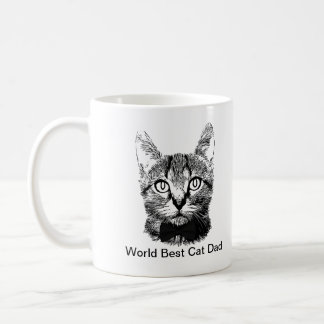 World Best Cat Dad Coffee Mug