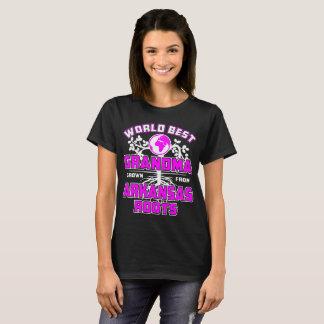 World Best Grandma Grown From Arkansas Roots Tshir T-Shirt