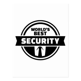 World' best security postcard
