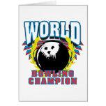 World Bowling Champion Greeting Card