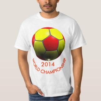 WORLD CHAMPIONSHIP 3D SOCCER BALL T SHIRTS