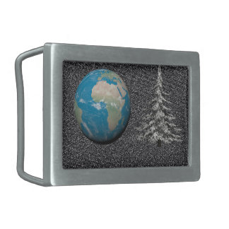 world christmas and snow belt buckles