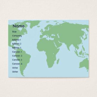 World - Chubby Business Card