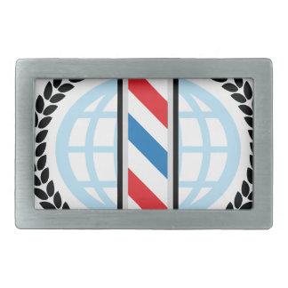 World Class Barber Shop Belt Buckle
