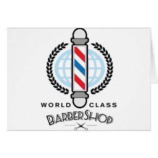 World Class Barber Shop Card