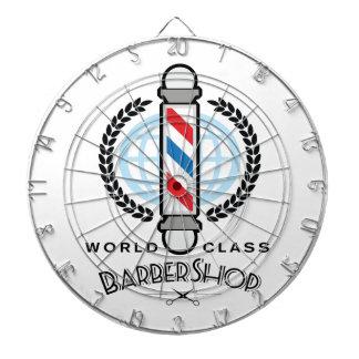 World Class Barber Shop Dartboard With Darts