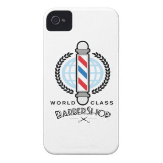 World Class Barber Shop iPhone 4 Case-Mate Cases