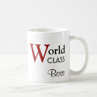World Class Boss You're the Best G501 Classic White Coffee Mug