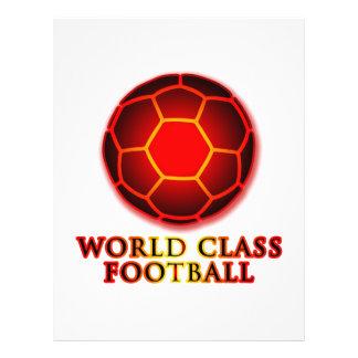 World Class Football 21.5 Cm X 28 Cm Flyer