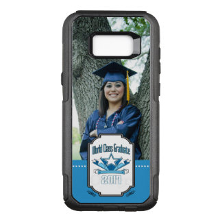 World Class Graduate Class of 2017 Graduation OtterBox Commuter Samsung Galaxy S8+ Case