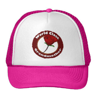 World Class Grandmother Mothers Day Gifts Trucker Hats