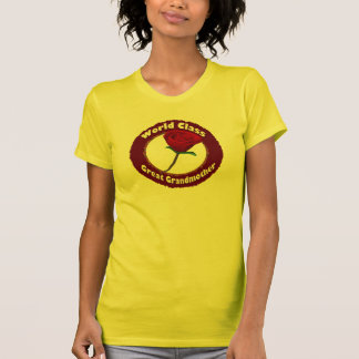 World Class Great Grandmother Mothers Day Gifts Shirts