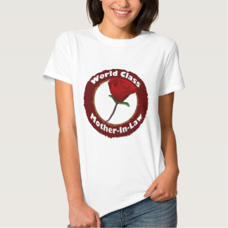 World Class Mother-In-Law Mothers Day Gifts Tshirts