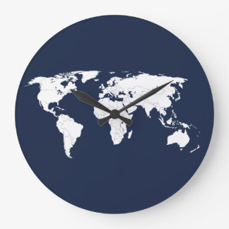 WORLD CLOCK - DELFT BLUE