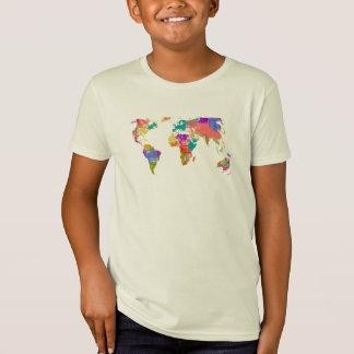 World colour map T-Shirt