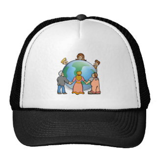 World Coming Together Hat
