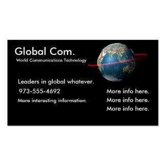 World Communications Technology Business Cards