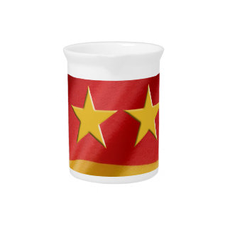 world-cup- Flag Beverage Pitchers