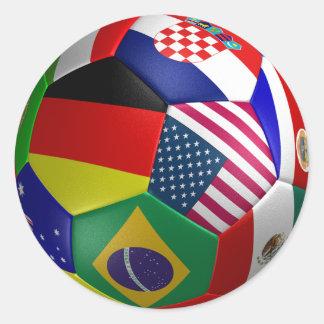 World Cup Futbol Soccer Ball Sticker