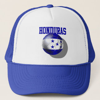 World Cup Soccer Brazil 2014 Honduras flag ball Trucker Hat
