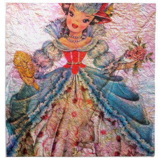 WORLD DOLL FRANCE NAPKIN