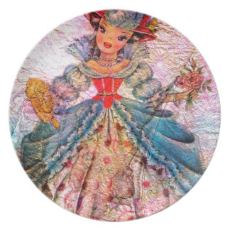 WORLD DOLL FRANCE PLATE