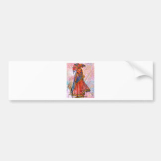 WORLD DOLL INDIA BUMPER STICKER