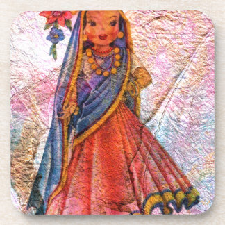 WORLD DOLL INDIA COASTER