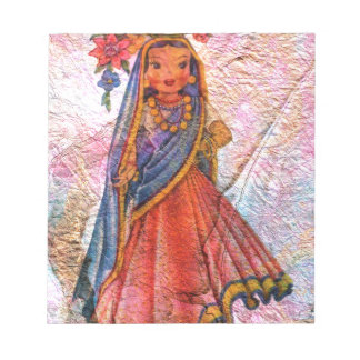WORLD DOLL INDIA NOTEPAD