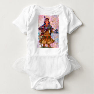 WORLD DOLL NATIVE AMERICAN BABY BODYSUIT