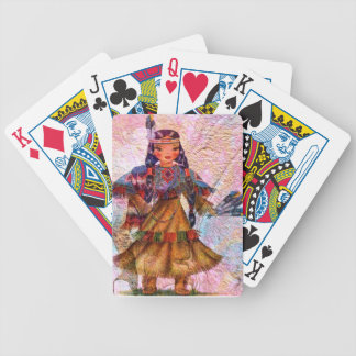 WORLD DOLL NATIVE AMERICAN BICYCLE PLAYING CARDS