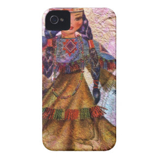 WORLD DOLL NATIVE AMERICAN Case-Mate iPhone 4 CASE