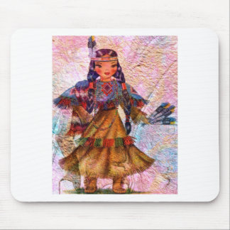 WORLD DOLL NATIVE AMERICAN MOUSE PAD