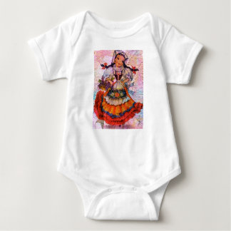 WORLD DOLL SPAIN 2 BABY BODYSUIT