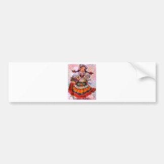 WORLD DOLL SPAIN 2 BUMPER STICKER