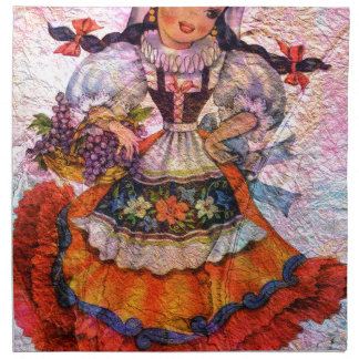 WORLD DOLL SPAIN 2 NAPKIN