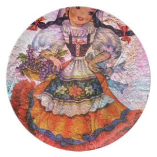 WORLD DOLL SPAIN 2 PLATE