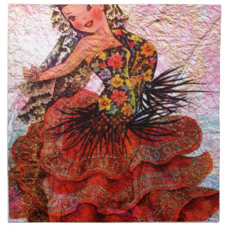 WORLD DOLL SPAIN NAPKIN