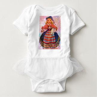 WORLD DOLL SWEEDISH BABY BODYSUIT