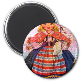 WORLD DOLL SWEEDISH MAGNET