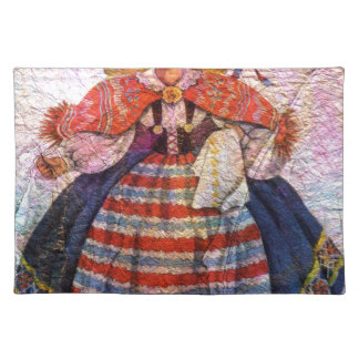 WORLD DOLL SWEEDISH PLACEMAT