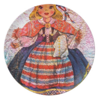 WORLD DOLL SWEEDISH PLATE