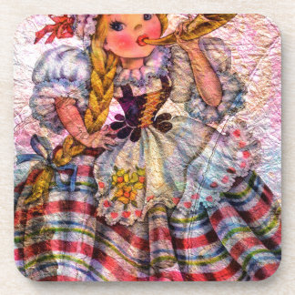 WORLD DOLL SWISS COASTER