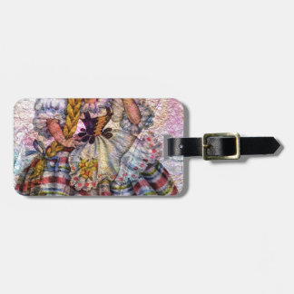 WORLD DOLL SWISS LUGGAGE TAG
