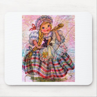 WORLD DOLL SWISS MOUSE PAD