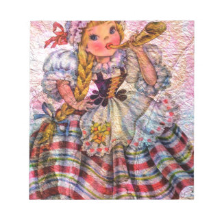 WORLD DOLL SWISS NOTEPAD