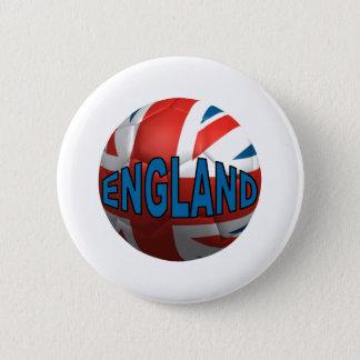 World England 6 Cm Round Badge