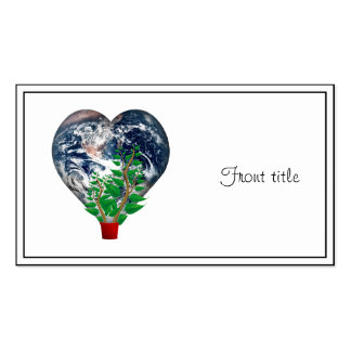 World Environment Day Pack Of Standard Business Cards