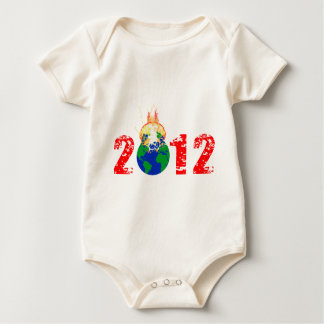 World Exploding in 2012 Baby Bodysuit